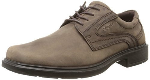 ECCO Men's Helsinki Plain Toe Oxford, Coffee, 43 EU/9-9.5 M US (Shoes Ecco Men Helsinki)