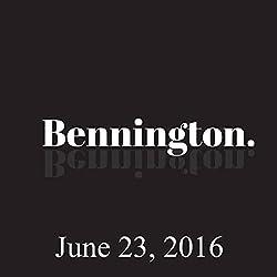 Bennington, June 23, 2016