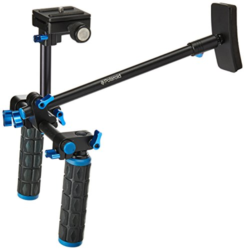 Polaroid Dual Grip Video Chest Stabilizer Support System For DSLR Cameras & Camcorders