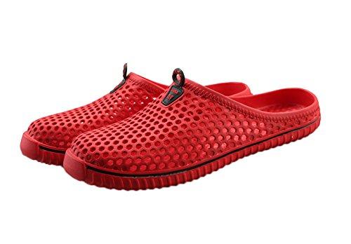 Tortor 1bacha Unisex Adulto Caviglia Zoccolo Sandalo Sandalo Rosso Scarpe Rosse