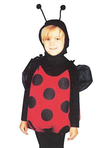 UHC Girl's Lil Lady Bug Outfit Toddler Kids Fancy Dress Halloween Costume, Child (2-6) (Costume Lil Ladybug Infant)