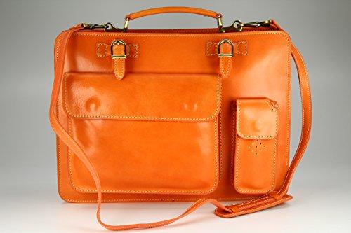nbsp;39 11 Sacoche Bag enseignants nbsp;x cuir quot;Design Verona H B nbsp;– nbsp;Choix Sac unisexe des nbsp;cm couleurs x nbsp;x amp;apos business nbsp;– Belli Orange en T x ital 29 ETwq081