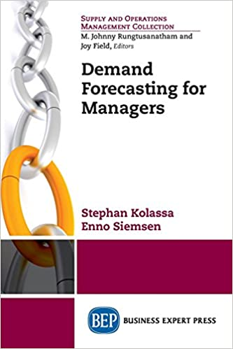Demand forecasting for managers enno siemsen 9781606495025 demand forecasting for managers enno siemsen 9781606495025 amazon books fandeluxe Choice Image