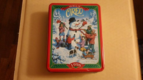 Nabisco Oreo 1996 - Snowy Way - Keepsake Tin for sale  Delivered anywhere in USA