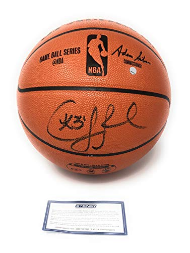 Chris Paul Houston Rockets Signed Autograph NBA Game Ball Steiner Sports Certified ()