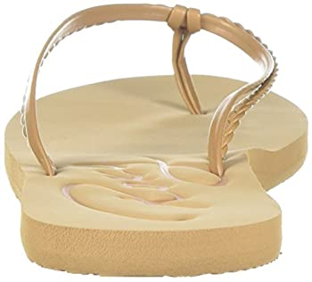 Roxy Women's Cabo Sandals Flip-flop, Tan, 7 M Us 1
