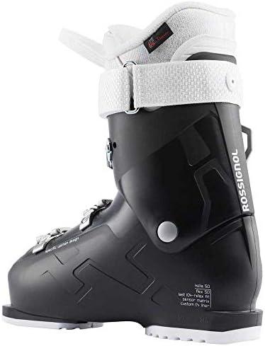 Rossignol Kelia 50 Ski Boots, Women, Soft Black, 23.0