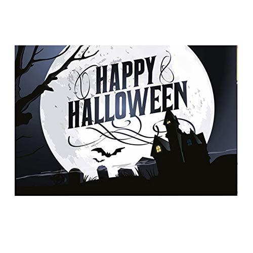 Willsa Halloween Backdrops 5x3FT Lantern Background Photography Studio Decoration -