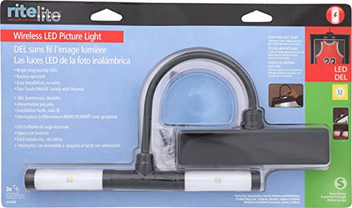 Rite Lite LPL602B battery operated Super Bright LED Picture Light by Rite Lite (Image #7)'
