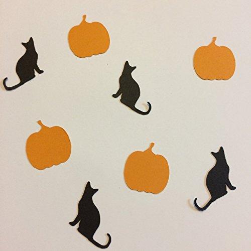 1in Confetti Set, Pumpkin Cut Outs, Cat Cut Outs Autumn Theme, Pumpkin Decorations, Halloween Decorations, Halloween Theme, Cat (Pumpkin Cut Outs Halloween)