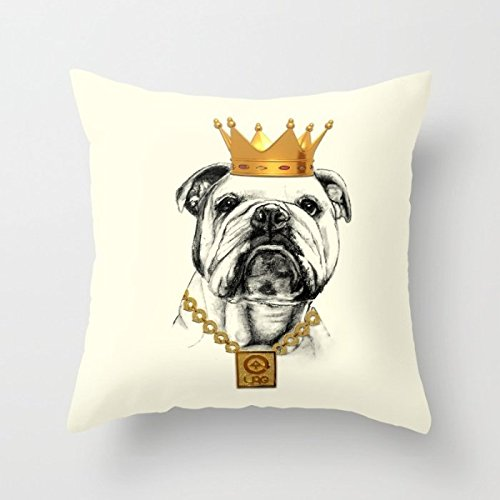 dogs pillow cases 16 x 16 inches /