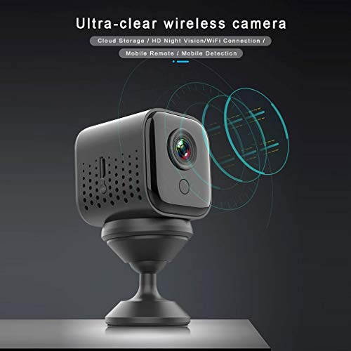 Nesee Household W16 Mini 1080P HD Wireless WiFi Video Camera Magnetic Remote Monitoring Webcam