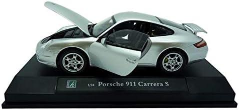 Voiture Porsche 911 Carrera S Grise Metal 1//24/°