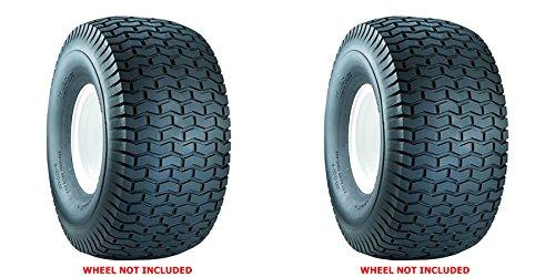 2 Pack of Original CARLISLE 15X6X6 Turf Tires 2 Ply