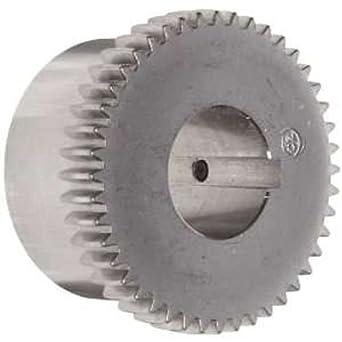 6.03 Length Through Bore 9.51 Overall Length Lovejoy 69790435754 Steel Hercuflex FXL Series 5 Gear Hub 0.625 x 1.25 Keyway 508600 In-Lbs Maximum Torque 0.625 x 1.25 Keyway 6.03 Length Through Bore 5.1875 Bore 9.51 OD 9.51 OD 5.1875 Bore