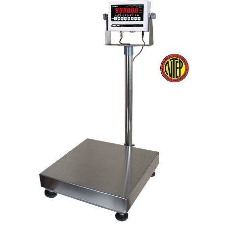 250 x 0.05 lb Capacity TS-700 MS Indicator Triner Scale TBS-1616 Bench Scale 16 x 16 platform