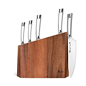 Cangshan N1 Series 59205 6-Piece German Steel Forged Knife Block Set