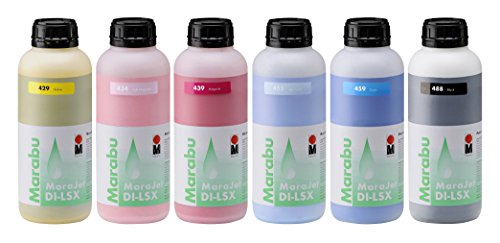 MARABU MaraJet DI-LSX, 1 Liter Eco Solvent Ink Bottle, for ROLAND Printers (Light (Light Magenta 1 Liter Bottle)