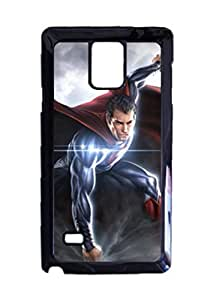 Engood Design Superman Man of Steel Case Durable Unique Design Hard Back Case Cover For Samsung Galaxy Note 4 New