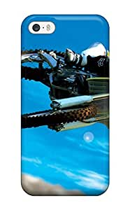 Barbauller Snap On Hard Case Cover Amazing Motocross Bike Stunt Protector For Iphone 5/5s