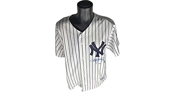 78e9806f Roger Clemens Signed Autographed NY Yankees Jersey TRISTAR MLB at Amazon's  Sports Collectibles Store