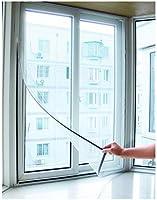 Tela Mosquiteiro com Tiras Aderentes para Janela / Porta 125x125cm - Wincy