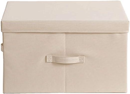 Caja de almacenamiento de tela con marco de hierro armario ropa edredón ropa caja de almacenamiento caja de almacenamiento caja de almacenamiento-3: Amazon.es: Hogar