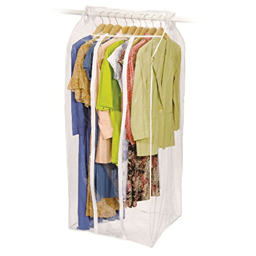 Garment Bags Storage - Jumbo Frameless Garment Bag Organize Storage Clean Neat (24