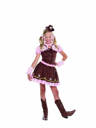 SugarSugar Kids Rodeo Star, Medium - International Costumes