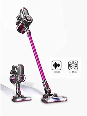 YYUU Multi-función de Carga de Mano inalámbrico Stick Aspirador Ligero, 24-28min Auto, 7000pa de Alta succión (púrpura): Amazon.es: Hogar