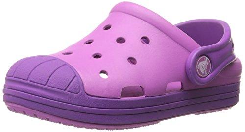Crocs Kids' Bump It Clog, Wild Orchid/Amethyst, 13 M US Little Kid