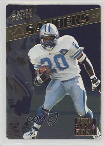 Barry Sanders Highlights - Barry Sanders (Football Card) 1995 Action Packed Monday Night Football - [Base] - Highlights #2