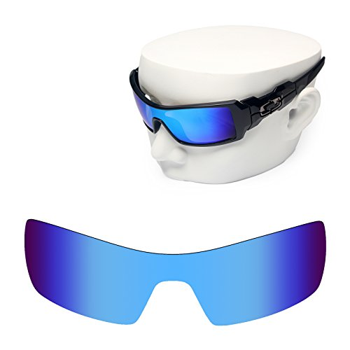 OOWLIT Replacement Sunglass Lenses for Oakley Oil Rig Blue - Oakleys Oilrig