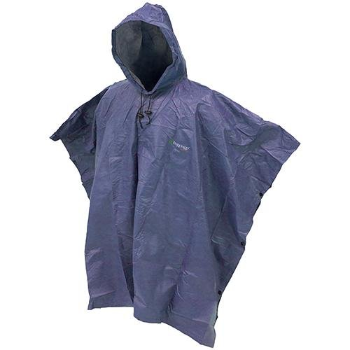 Frogg Toggs Ultra-Lite2 Waterproof Breathable Poncho, Blue, One Size ()