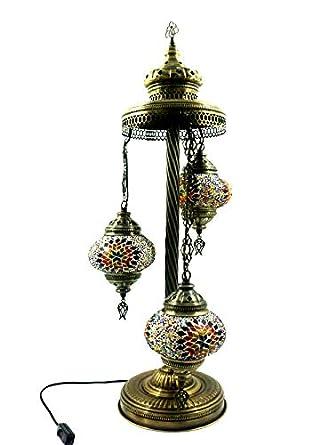 Marrakesch Turco Tiffany Cristal Mosaico Turkish Asia mesa ...
