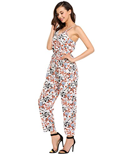 Zeagoo+Women+Sleeveless+Wrap+Front+Floral+Print+Cami+Jumpsuit+Overall