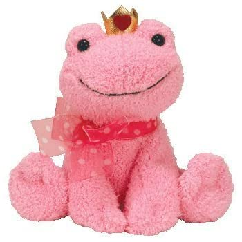 Amazon.com: Ty Beanie Babies Kissable - Pink Frog with