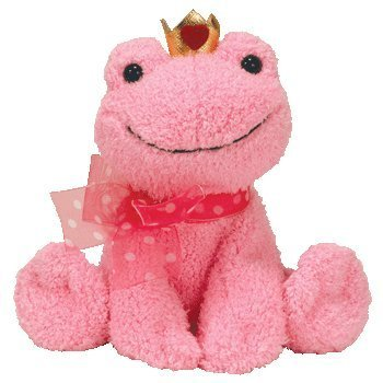 TY Beanie Baby - KISSABLE the Frog  - MWMTs Stuffed Animal T