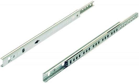 Hettich 9220236 Kugelpr/äzisionsteilauszug Schubladenschiene KA 1730//305-inkl verzinkt 1 Paar Schrauben Belastbar 10kg