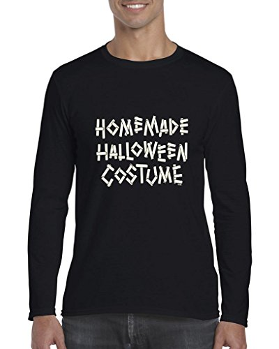 Blue Tees Homemade Halloween Costume Fashion Party People Best Friends Gift Couples Gifts Long Sleeve Men T-Shirt XXX-Large (Best Homemade Halloween Costumes)