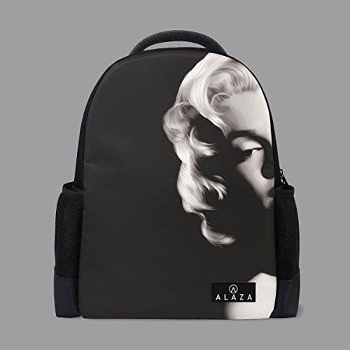 Marilyn Monroe Mini - A lie. Cool Marilyn Monroe Sexy Kids Travel School Backpack with Mesh Side Pocket