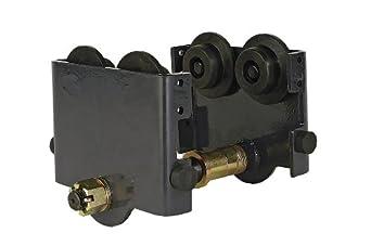 "R&M Hoists RPT Manual Push Trolley, 2 ton Capacity, 3.46"" - 7.88"" Beam Flange Width"