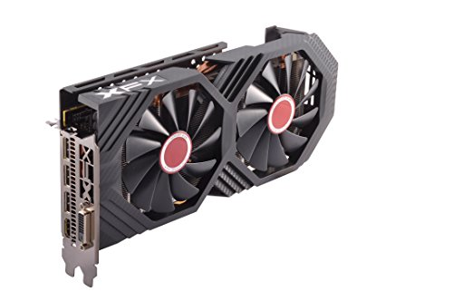 XFX GTS XXX Edition RX 580 8GB OC+ 1386Mhz DDR5 3xDP HDMI DVI Graphic Cards RX-580P8DFD6 by XFX (Image #1)