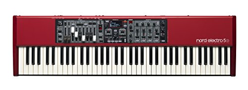 Nord Electro 5D 73 Velocity Sensitive 73-Key Semi-Weighted Waterfall Keyboard (NELECTRO5D-73)