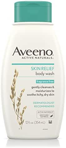 Aveeno Skin Relief Body Wash, 12 Oz