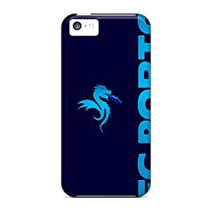 PhilHolmes Iphone 5c Excellent Cell-phone Hard Covers Provide Private Custom HD Fc Porto Pattern [fyH15040ZrIe]