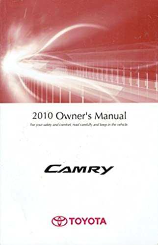 2010 toyota camry owners manual guide book toyota automotive rh amazon com 2010 toyota camry owners manual ebay 2010 Toyota Camry Owners Manual