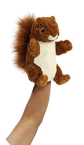 Aurora World Hand Puppet Silly Squirrel Plush