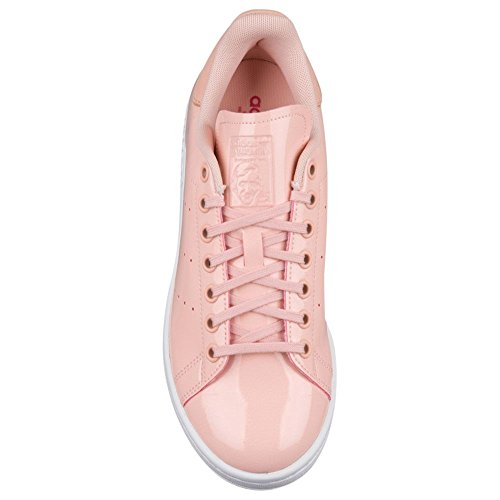 Adidas Originals Kvinna Stan Smith W Mode Sneaker Rosa / Rosa / Vit