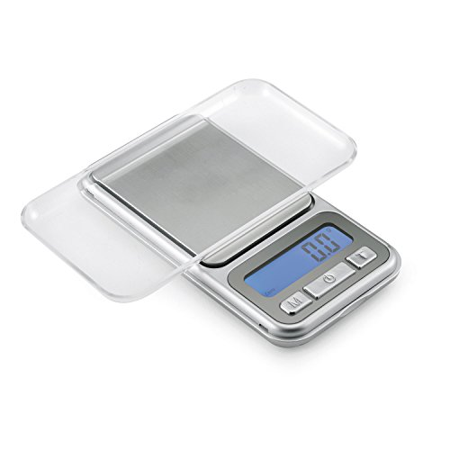 Polder Portable Pocket Scale - Compact Scale with 6 Weighing Modes, Digital Display